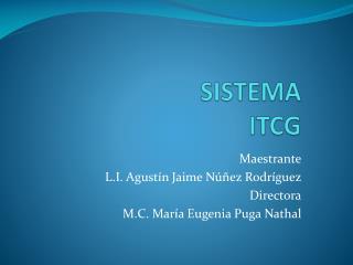 SISTEMA  ITCG