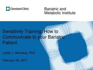 Bariatric and Metabolic Institute