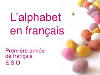Première année de français E.S.O.
