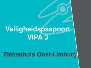 Veiligheidspaspoort  VIPA 3