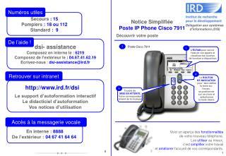 dsi- assistance Composez en interne le  :  6219 Composez de l'extérieur le : 04.67.41.62.19