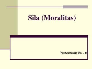 Sila (Moralitas)