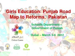 Girls Education: Punjab Road Map to Reforms,  Pakistan