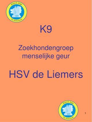 K9 Zoekhondengroep menselijke geur  HSV de Liemers