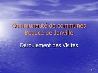 Communauté de communes Beauce de Janville