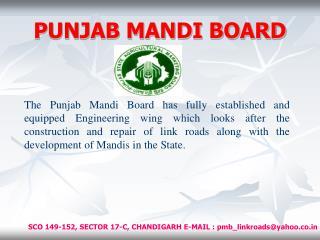 PUNJAB MANDI BOARD