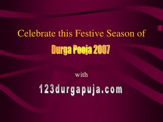Celebrate this Festive Season of