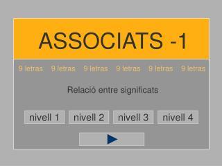 ASSOCIATS -1