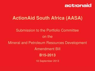 ActionAid South Africa (AASA)