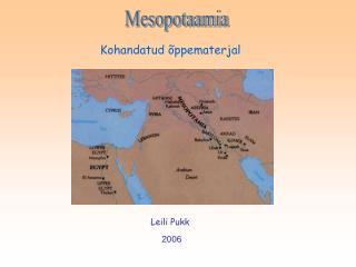Mesopotaamia