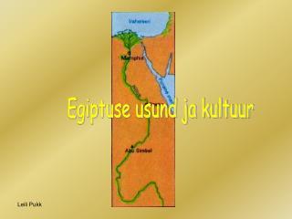 Egiptuse usund ja kultuur