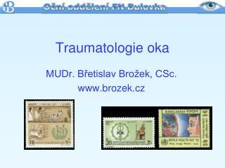 Traumatologie oka