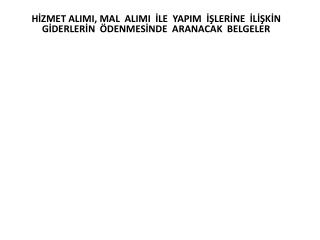 H İ Z M E T   A L I M L A R I    (1);