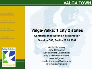 VALGA TOWN