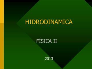 HIDRODINAMICA