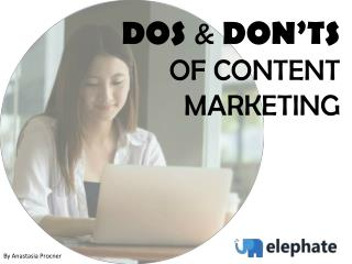 Dos & Don'ts of Guest Posting