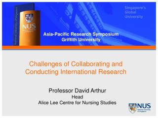 Challenges of Collaborating and Conducting International Research