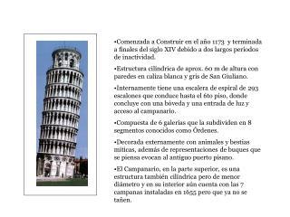 Desde 1913 :  *  Mediciones geodésicas Desde 1934 :   *  Péndulo Girometti-Bonechi Desde 1991: