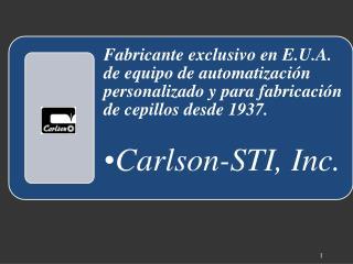 Carlson-STI, Inc