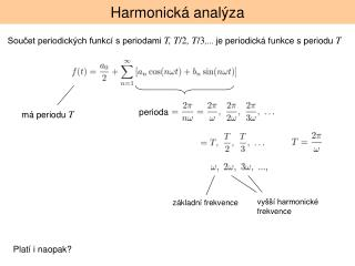 Harmonická analýza