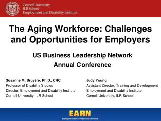 The Aging Workforce: Challenges and Opportunities for Employers