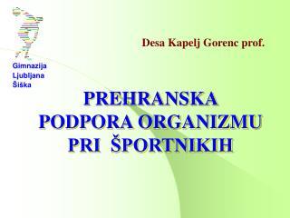 Desa Kapelj Gorenc prof.
