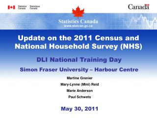 DLI National Training Day Simon Fraser University – Harbour Centre