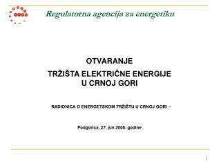 Regulatorna agencija za energetiku