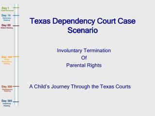 Texas Dependency Court Case Scenario