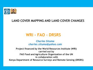LAND COVER MAPPING AND LAND COVER CHANGES