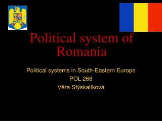 Political system of Romania