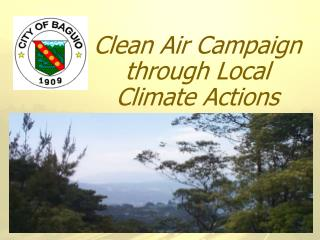 Clean Air Campaign through Local Climate Actions