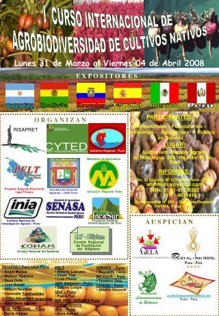 Instituto Nacional de Investigación Agraria