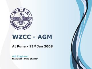 WZCC - AGM