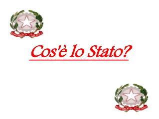 Cos'è lo Stato?