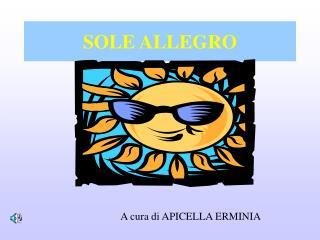 SOLE ALLEGRO