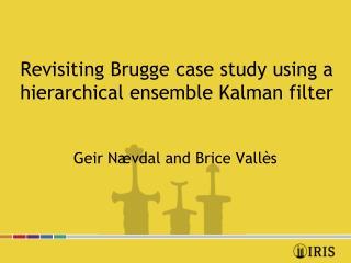 Revisiting Brugge case study using a hierarchical ensemble Kalman filter