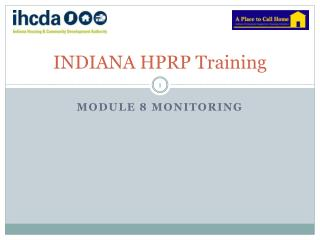 INDIANA HPRP Training