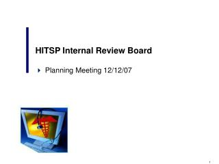 HITSP Internal Review Board