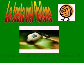 """Settimanale degli """"Irriducibili del Calcio a 5 / 6"""""""