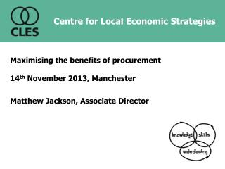 Centre for Local Economic Strategies