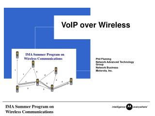 VoIP over Wireless