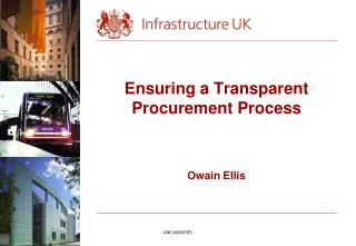 Ensuring a Transparent Procurement Process