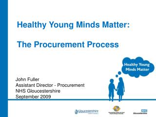 Healthy Young Minds Matter: The Procurement Process