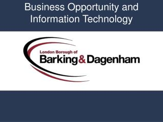 Business Opportunity and Information Technology