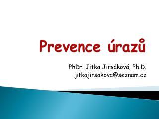 Prevence úrazů