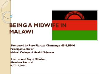 BEING A MIDWIFE IN MALAWI