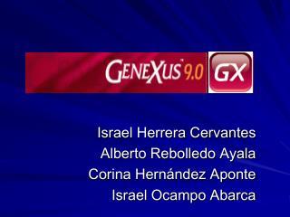 Israel Herrera Cervantes Alberto Rebolledo Ayala Corina Hernández Aponte Israel Ocampo Abarca