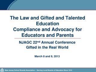 The Law and Gifted and Talented Education   Compliance and Advocacy for Educators and Parents