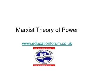 Marxist Theory of Power